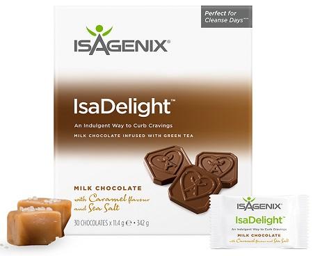 Isagenix IsaDelight UK packaging