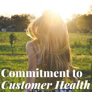 Isagenix Commitment to Customer Health