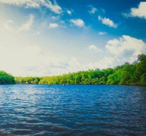 large green lake