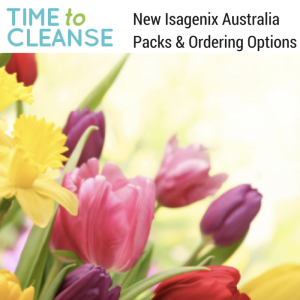 New Isagenix Australia Packs & Ordering Options