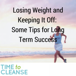 Losing Weight and Keeping It Off: Some Tips for Long Term Success