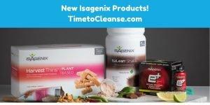 Isagenix new product updates