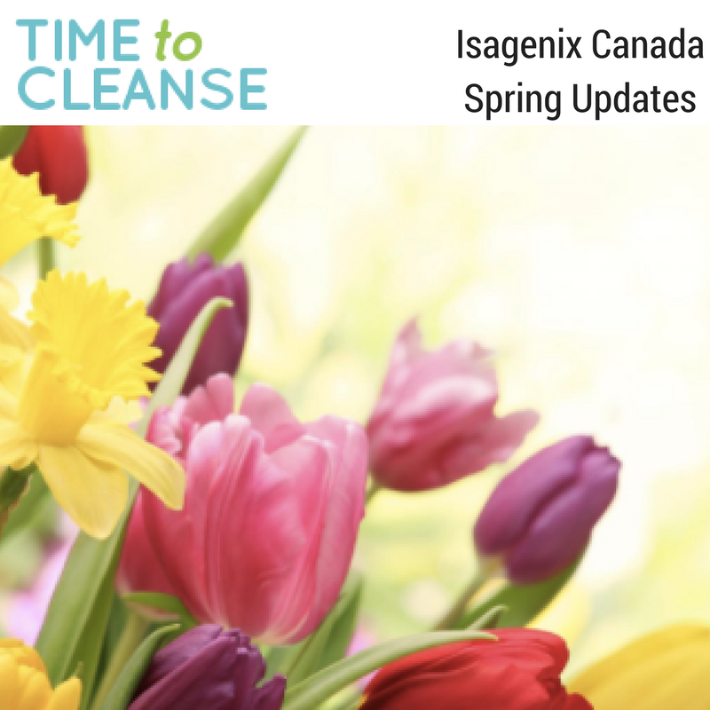 Isagenix Canada Updates