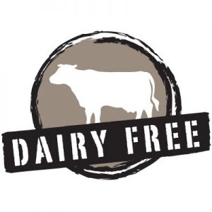 dairy free crossed out over cow