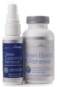 Isagenix sleep support and renewal and brain boost and renewal