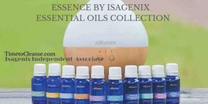 Essence essential oil collection with diffuser