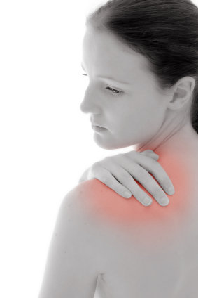 body inflammation woman shoulder