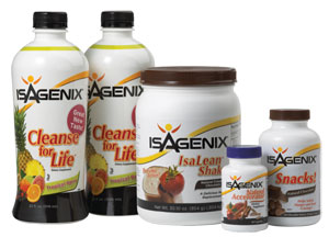 Isagenix 9 day cleanse supplements