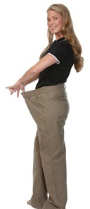 woman loose pants