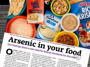 arsenic in your food poster