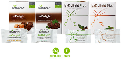 isadelights in 4 flavors