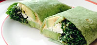 Kale Avocado Wrap