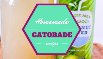 Homemade Energy Drink Recipe (& Why You Should Stop Drinking Gatorade RIGHT NOW!)
