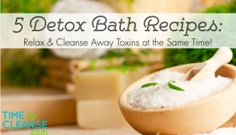 5 Detox Bath Recipes: Relax & Cleanse Away Toxins at the Same Time!