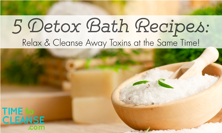 5 detox bath recipes