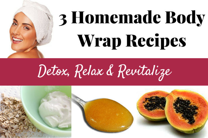 How to make homemade slimming body wraps