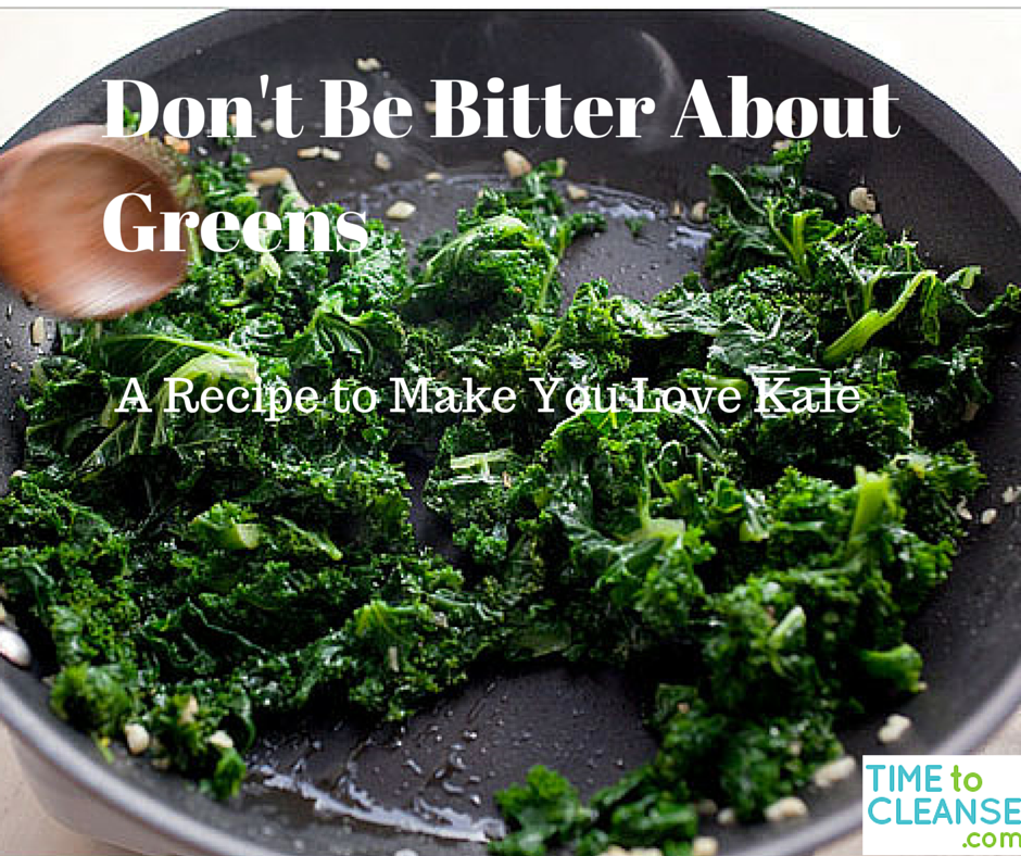 Don't Be Bitter About Greens