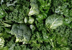 fatty acids: green vegetables