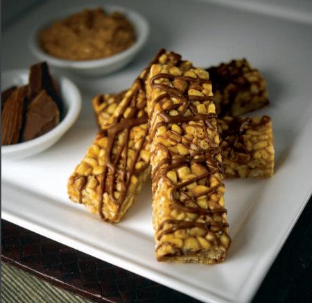 honey almond flavor bar