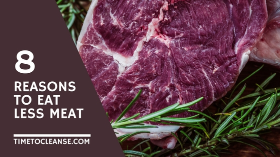 8 reasons to eat less meat