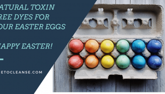 Natural Toxin Free Dyes for Your Easter Eggs