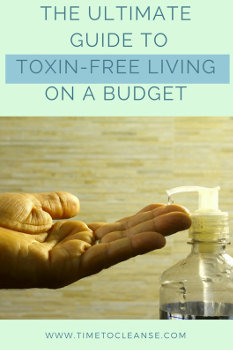 toxin free on a budget