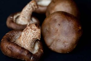 shitake mushrooms, brown