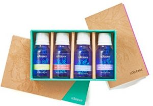 essential oils four bottle blends collection